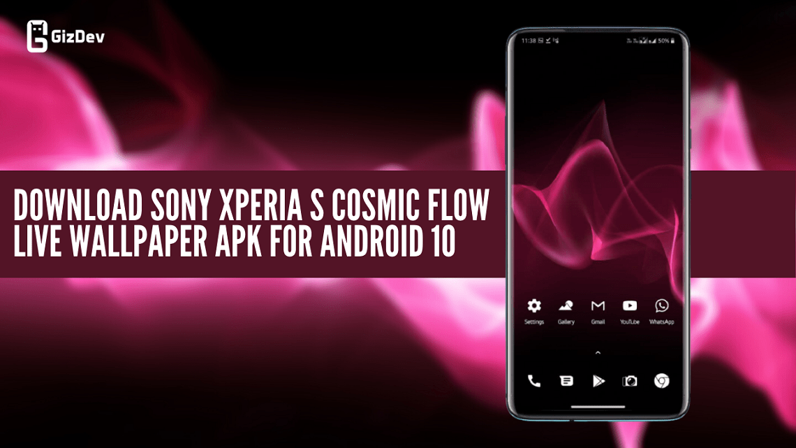 Download Sony Xperia S Cosmic Flow Live Wallpaper APK For Android 10