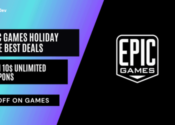Epic Games Holiday Sale Best Deals With 10$ Unlimited Coupons
