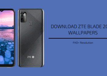 ZTE Blade 20 5G Stock Wallpapers