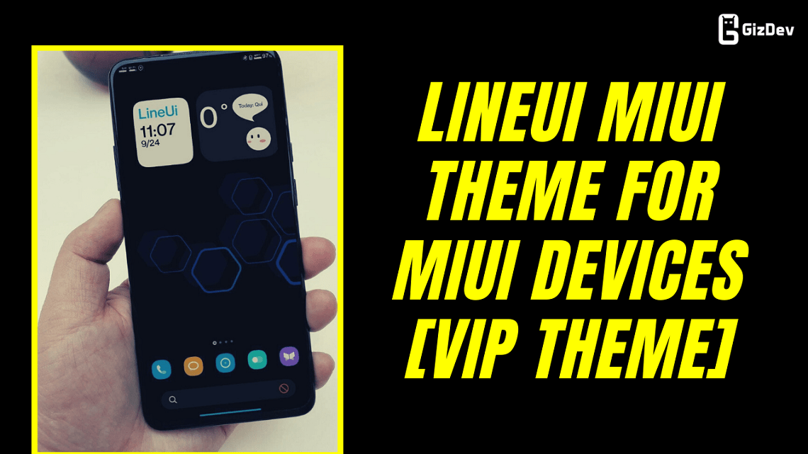 Download LineUI MIUI Theme For MIUI Devices [VIP Theme]