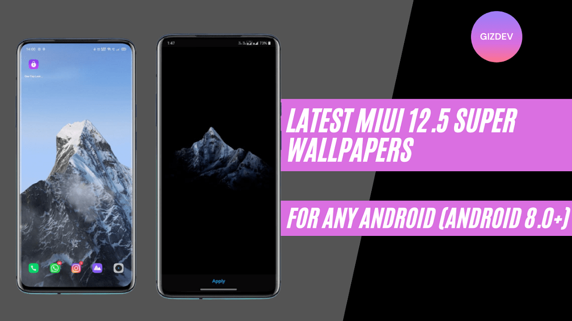Download MIUI 12.5 Super Wallpapers APK For Any Android