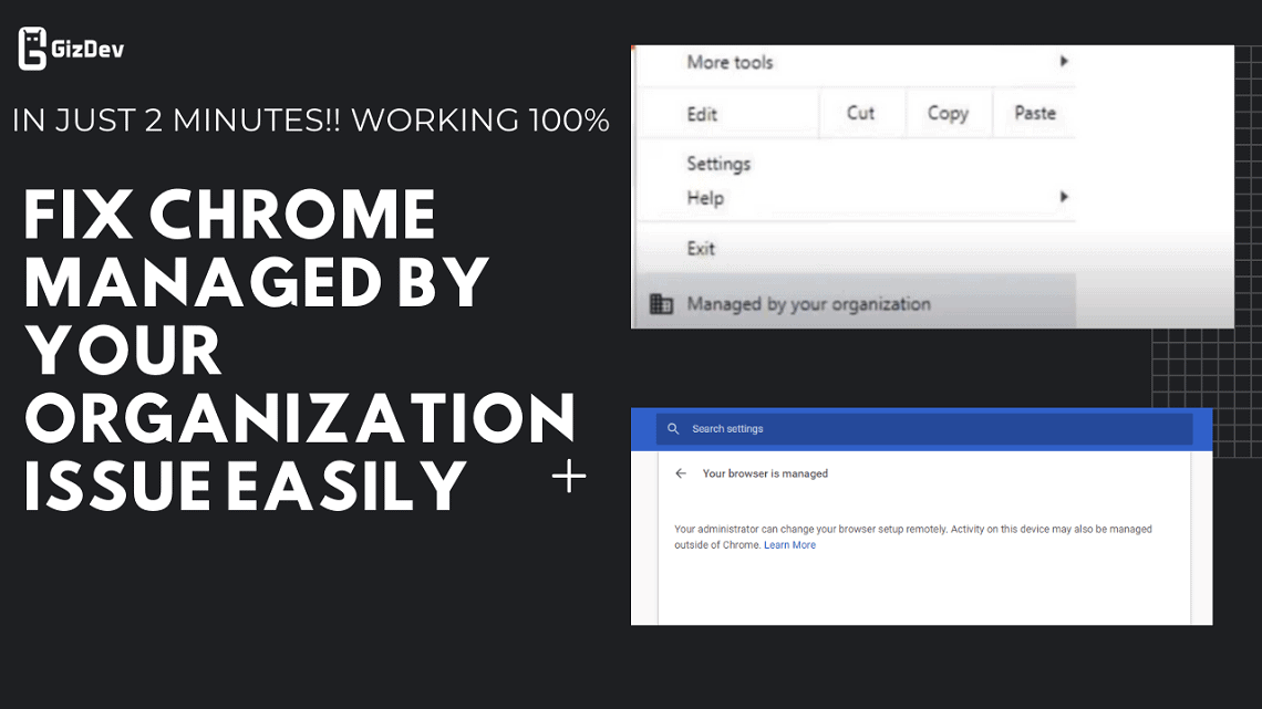 How To Fix Chrome Managed By Your Organization Issue Easily