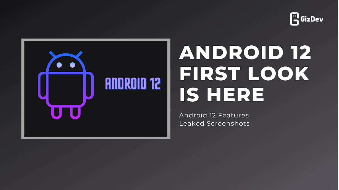 Android 12 First look is here, Android 12 Features Leaked Screenshots