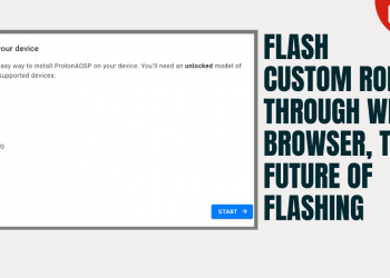 Flash Custom ROMs Through Web Browser, The Future Of Flashing
