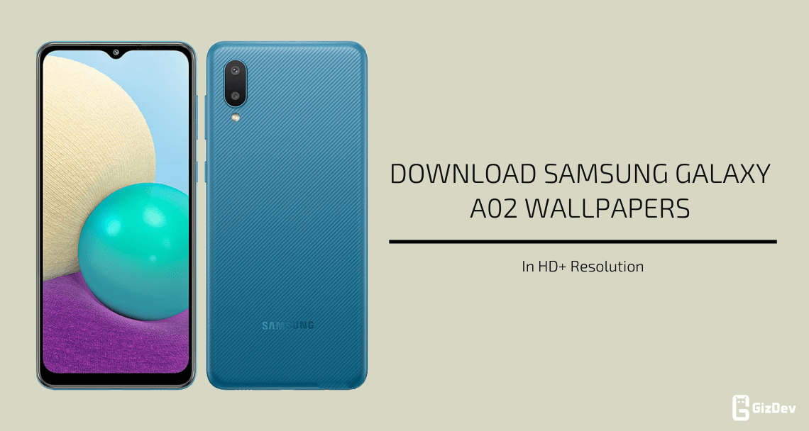 Samsung Galaxy A02 Stock Wallpapers