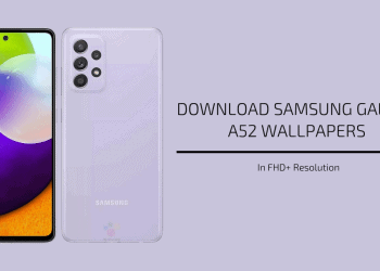 Samsung Galaxy A52 Stock Wallpapers