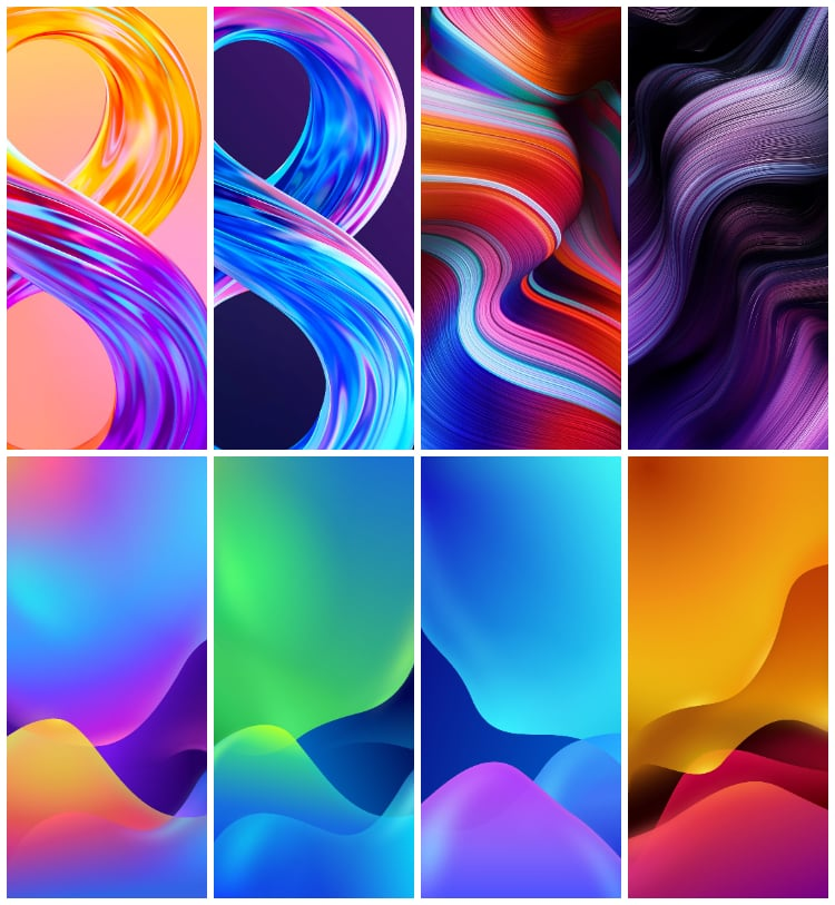 Realme 8 Wallpapers and Realme 8 Pro Wallpapers