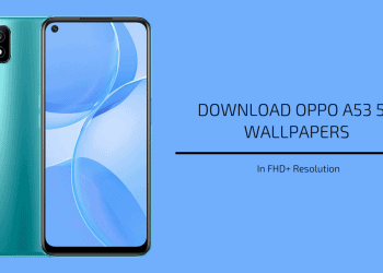Oppo A53 5G Stock Wallpapers