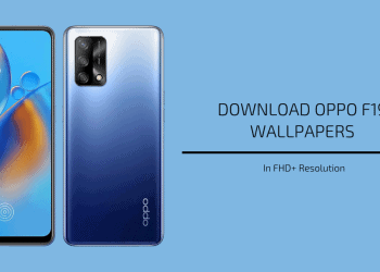 Oppo F19 Stock Wallpapers