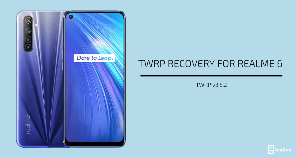 TWRP Recovery For Realme 6