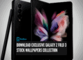 Download Exclusive Galaxy Z Fold 3 Stock Wallpapers Collection