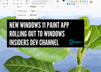 New Windows 11 Paint App Rolling out to Windows Insiders Dev Channel
