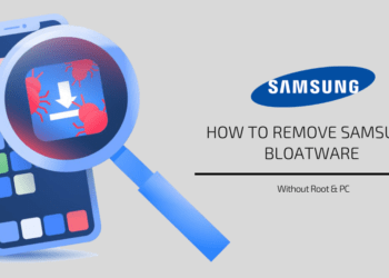 Remove Samsung Bloatware without Root & PC