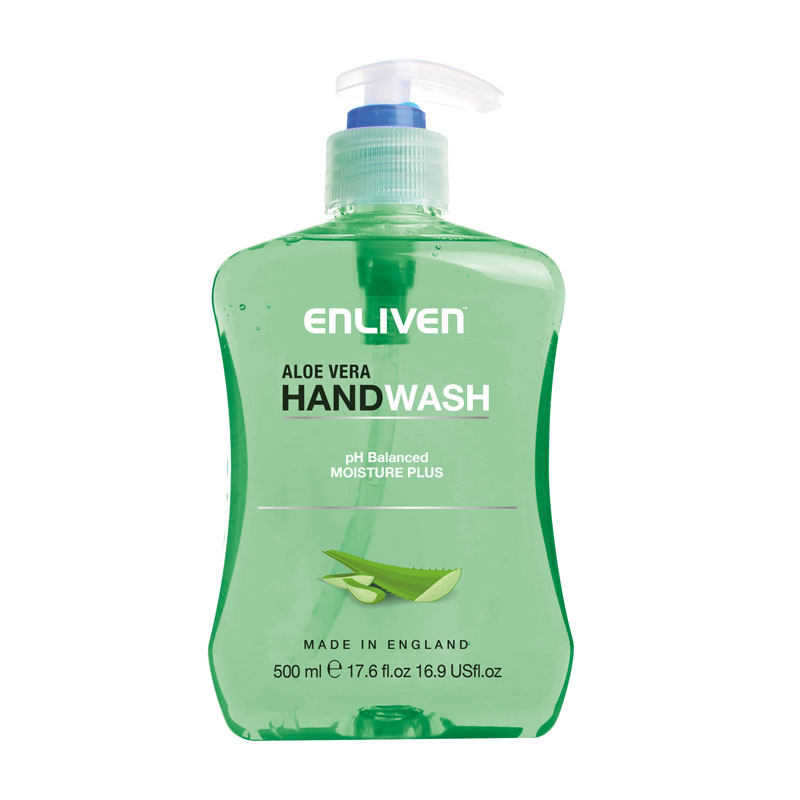 Enliven Anti Bacterial Handwash Aloe Vera 500ml Global Brands
