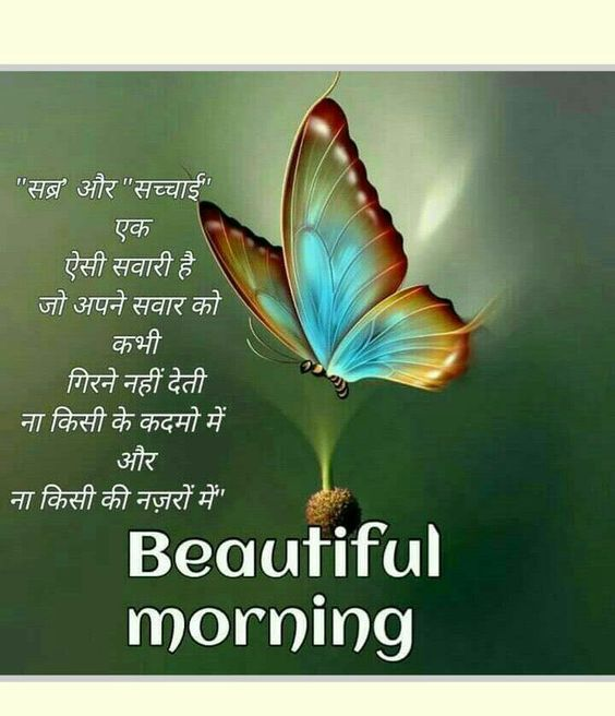 Good Morning Images With Quotes In Hindi 2