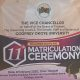 11th Matriculation Ceremony 1