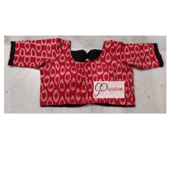 Red White Itkat Black Back And Frill 2