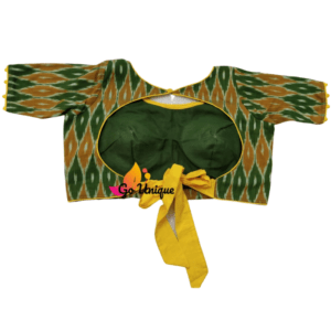Green Yellow Itkat Back Lace 1