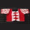 Rd Jamdani With Red White Sleeves(1)