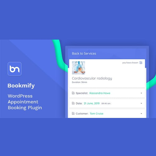 Bookmify Appointment Booking WordPress Plugin