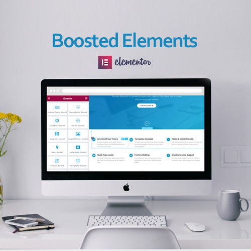 Boosted Elements – Page Builder Add on for Elementor