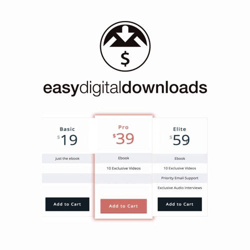 Easy Digital Downloads Pricing Tables