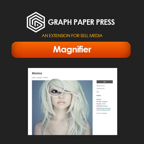 Graph Paper Press Sell Media Magnifier