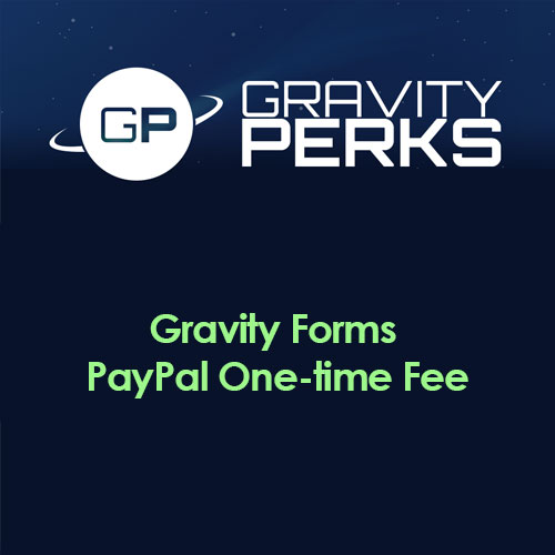 Gravity Perks – Gravity Forms PayPal One time Fee