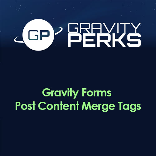 Gravity Perks – Gravity Forms Post Content Merge Tags