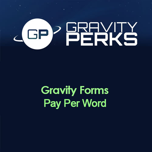 Gravity Perks Gravity Forms Pay Per Word