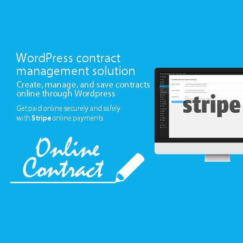 WP Online Contract Stripe Payments