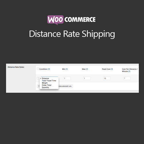 WooCommerce Distance Rate Shipping 1