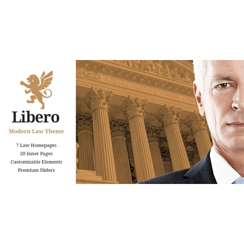 Libero Lawyer and Law Firm Theme