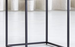 Mix Agate Metal Frame Console Tables