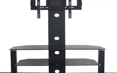 Cantilever Glass Tv Stands