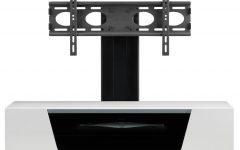 White Cantilever Tv Stands