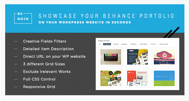 Behance Projects WP Plugin