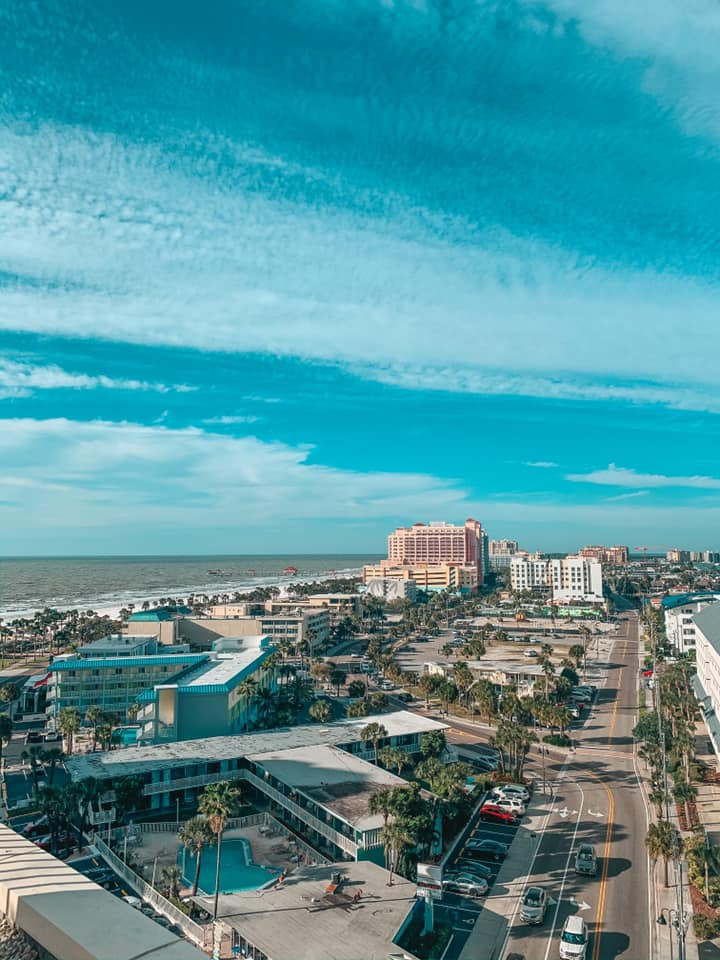 views of Clearwater Beach