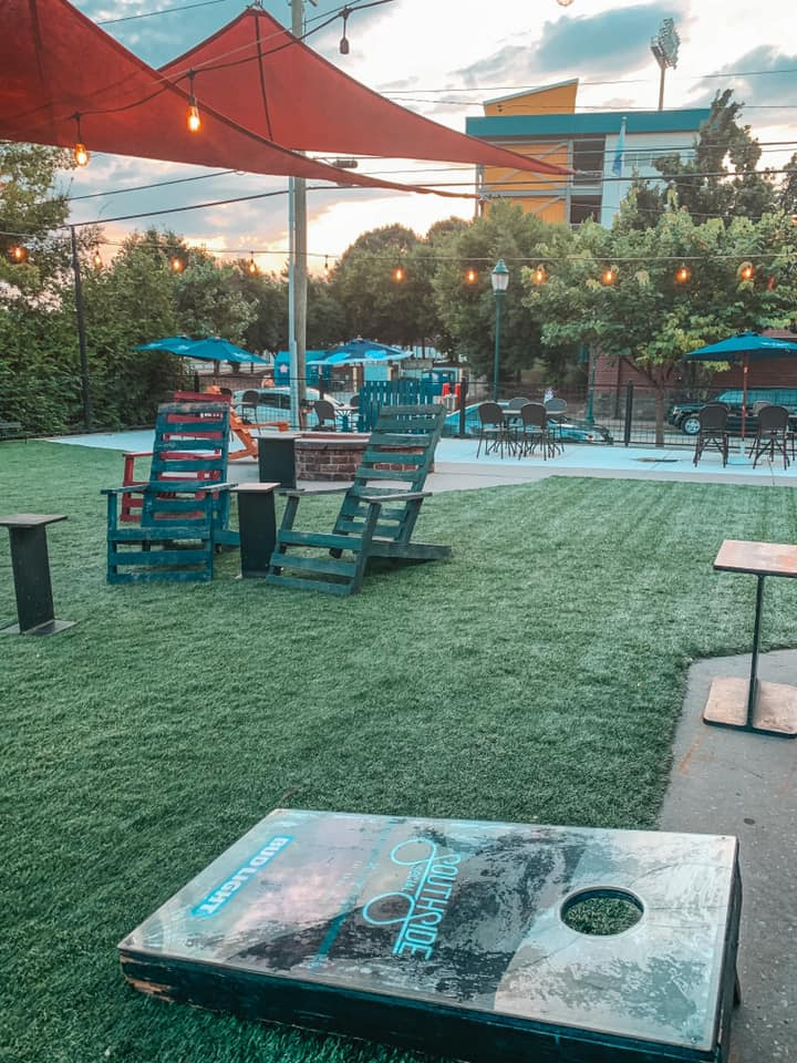 outdoor area at Southside Social in Chattanooga
