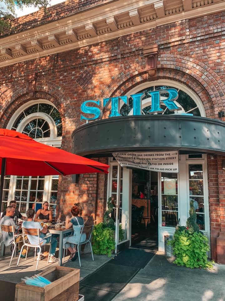 Outside of Stir Chattanooga