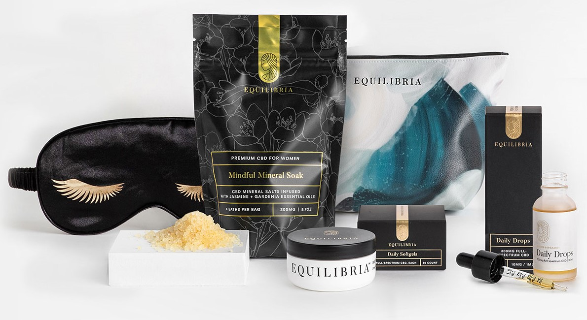 CBD holiday gift package