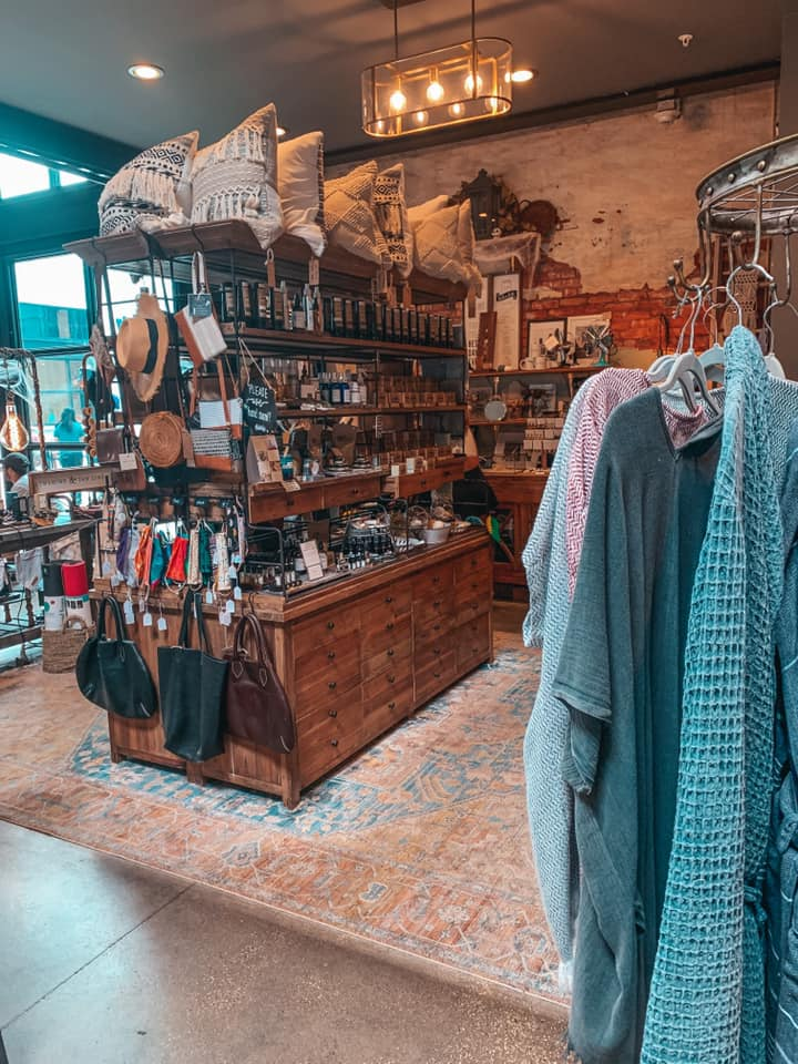 Shop with an array of items inside of Armature Works