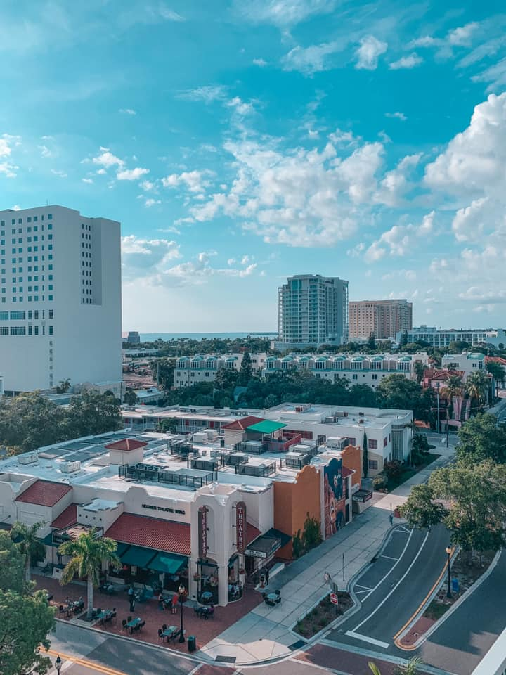 Views from Perspective rooftop in Sarasota
