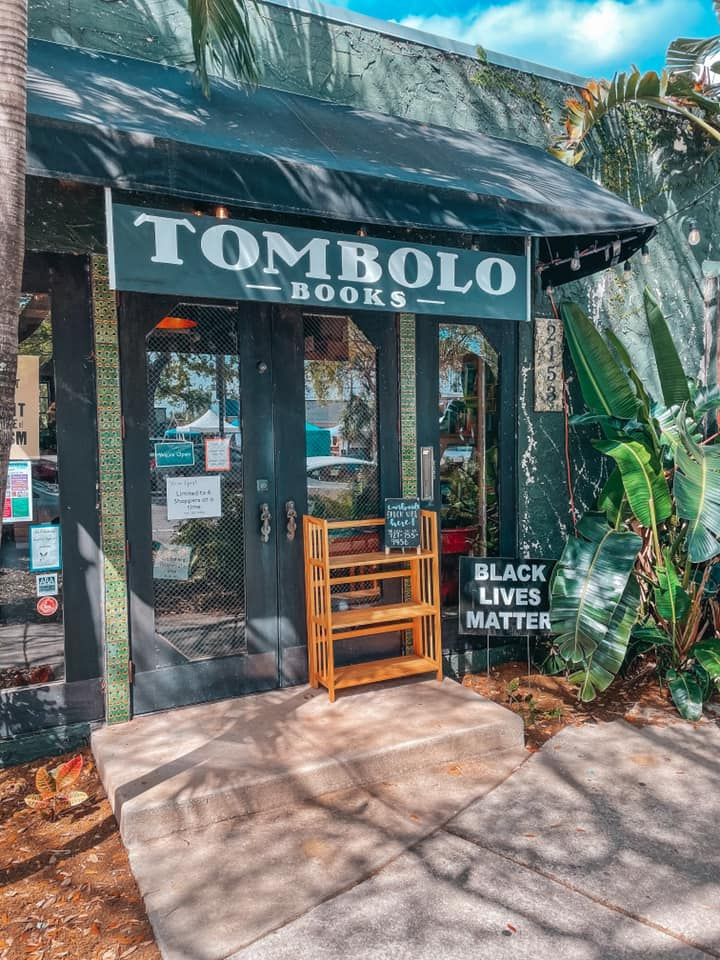 Entrance to Tombolo Books