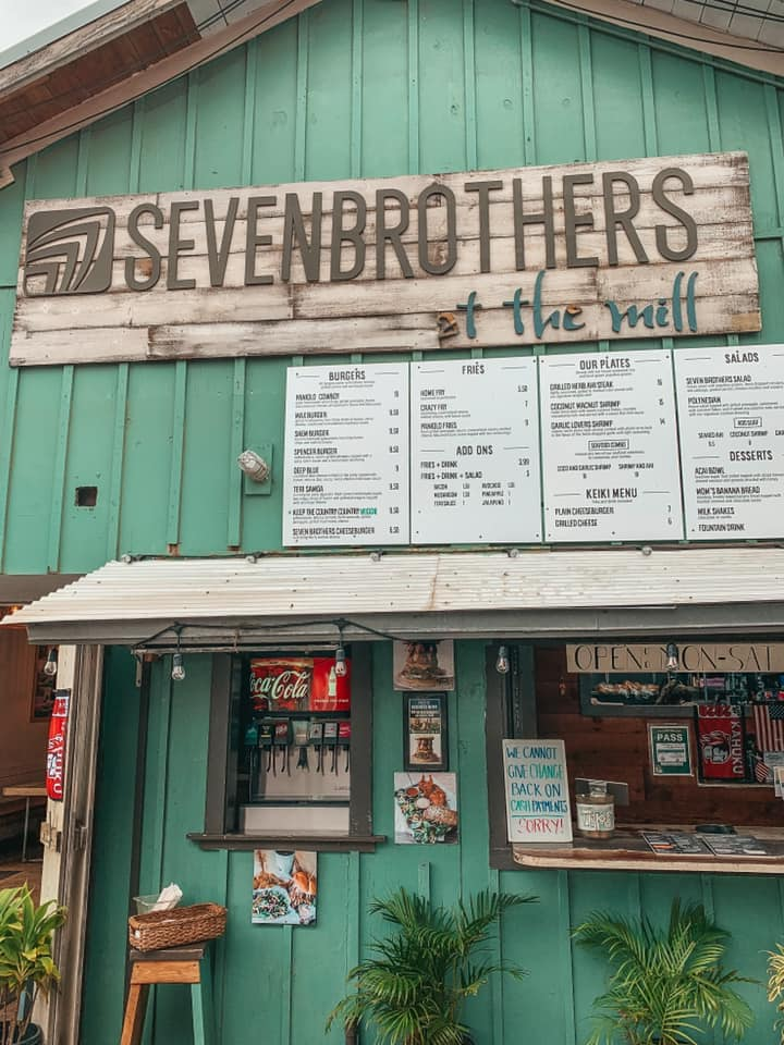 Seven Brothers at The Mill on Oahu's North Shore