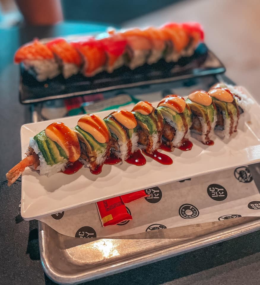 sushi from 1-800-lucky miami