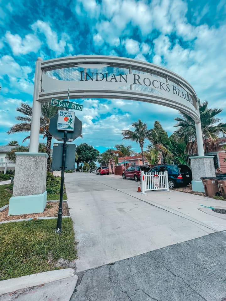 Indian Rocks Beach welcome signage