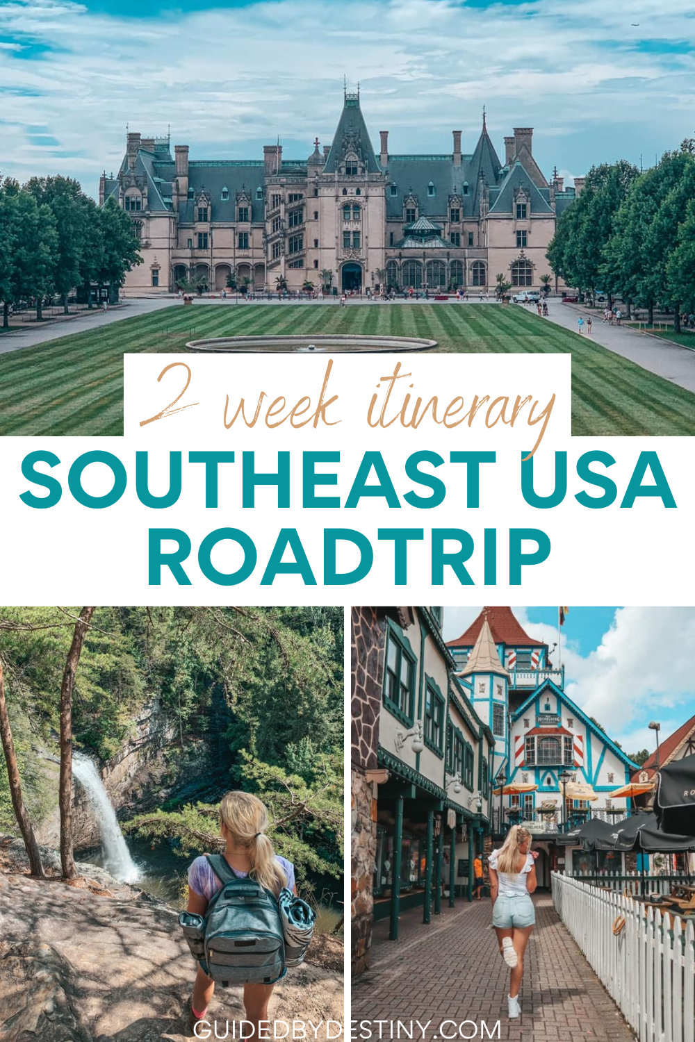 Perfect two week southeast US round-trip itinerary