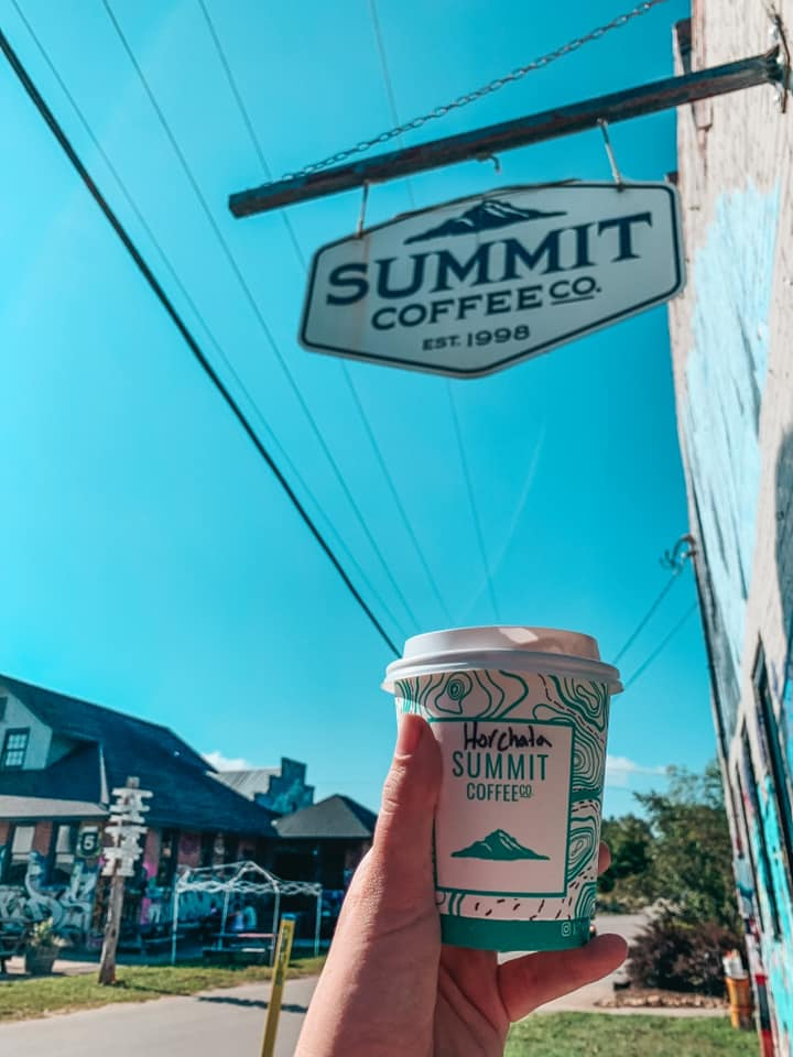 Horchata with Summit Coffee Co.