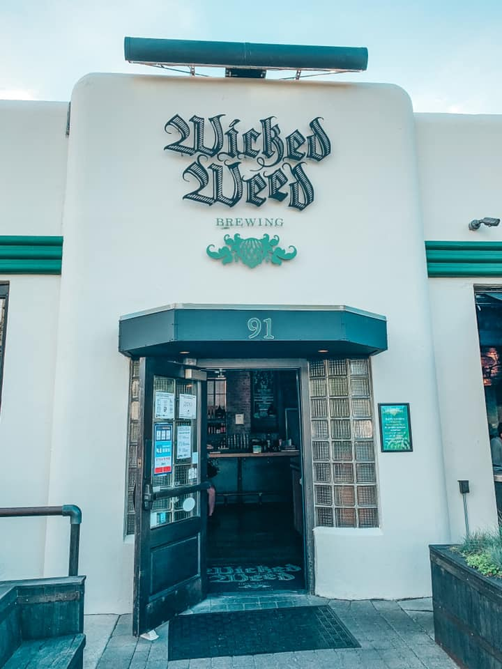 Wicked Weed entrance